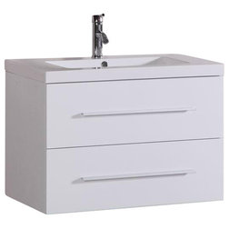 Stunning Modern Bathroom Vanities And Sink Consoles Beverly Floating Vanity With Faucet