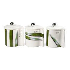 Modern Kitchen Jars modern kitchen canister sets | houzz
