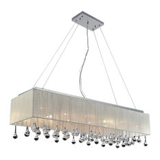 14 Light Chandelier with Chrome Finish