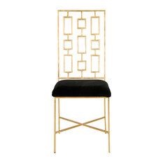 Gold Upholstered Dining Room Chairs