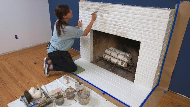 Houzz TV: Brick Painting