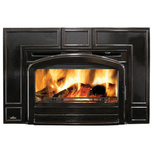 Cast Iron Epa Certified Wood Fireplace Insert 55000 Btus