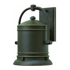 Hinkley Lighting   2214OZ Pullman Dark Sky Outdoor Wall Light, Oil Rubbed  Bronze   Outdoor