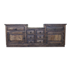 "Rustic Bathroom Vanity 937881, 60""x20""x32"""