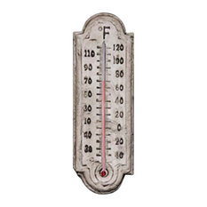 Pompei Ancient Stone Traditional Garden Thermometer