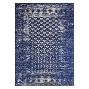 """Bashian Audrey Dark Blue Area Rug, 7'6""""x9'6"""""""
