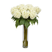 Hydrangea Silk Flower Arrangement