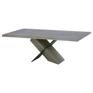 Remarkable Magnussen Verge Rectangular Cocktail Table In Two Tone Pabps2019 Chair Design Images Pabps2019Com