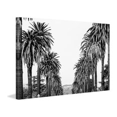 """""""Hollywood in Sight"""" Painting Print on Wrapped Canvas"""