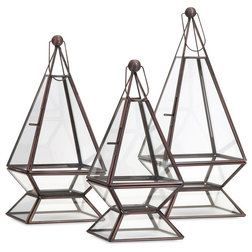 Transitional Terrariums by IMAX Worldwide Home