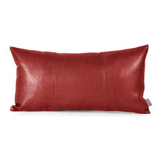 Howard Elliott Avanti Kidney Pillow, Apple Burgundy, Polyester Insert