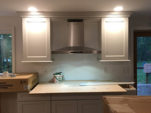 Induction cooktops with under cabinet hood | Airforce