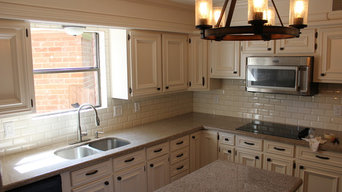 Kitchen Remodel with expansion in wall opening