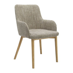 Sidcup Tweed Dining Chairs, Set of 2