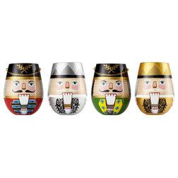 Contemporary Wine Glasses by American Glassware