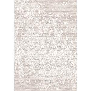 Something Ecru Casa Distressed Patterned Floor Rug, 120x170 cm