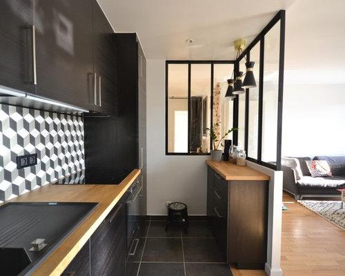 cuisine ikea en verri re. Black Bedroom Furniture Sets. Home Design Ideas
