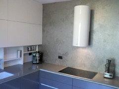 Cucina paraspruzzi piastrelle o parete verniciata urgente