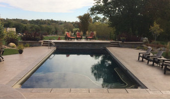 Custom Pool with Deck Seating