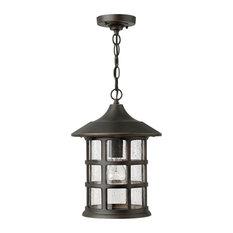 Hinkley Freeport Outdoor Large Hanging Lantern, Oil Rubbed Bronze