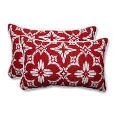 Aspidoras Apple Rectangular Throw Pillow, Set of 2, 18.5x11.5x5