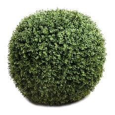 "Faux Boxwood Balls 21.5"",  2-Piece Set"
