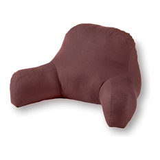 Cotton Duck Bed Rest Pillow, Chocolate