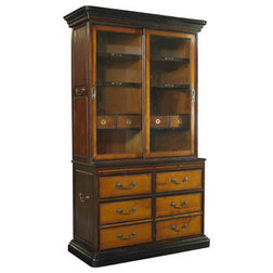 Traditional Bookcases by Brass Binnacle