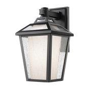 1 Light Outdoor Wall Light 532S-BK