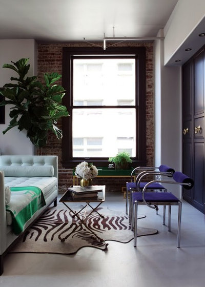 Contemporary Living Room by Caitlin & Caitlin Design ...