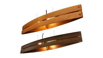 Pendelleuchte Holz CANOT