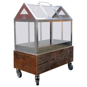 Beskaffenhed Upcycled Pallet Greenhouse Box