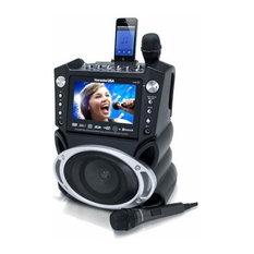 Karaoke USA DVD/CDG Karaoke Player With Bluetooth and SD Slot