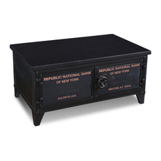 Industrial Style Nationale Collection 2-Door Coffee Table With Storage