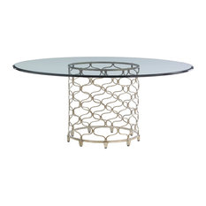 Bollinger Dining Table With 72, Inch Glass Top