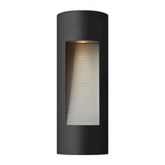 Hinkley Luna Outdoor Medium Wall Mount Lantern, Satin Black