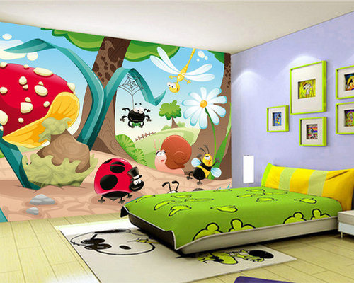Papier peint chambre bebe for Tapisserie chambre bebe