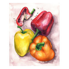 Bell Peppers Oil Painting