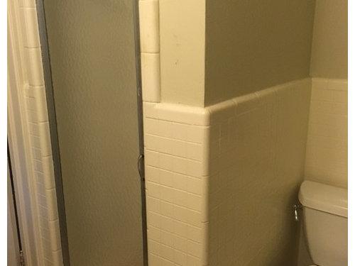Keep Pony Wall in Glass Shower Near Toilet? Help!