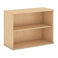 Scranton & Co 30H 2 Shelf Bookcase In Natural Maple