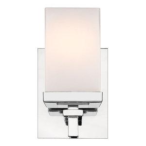 "Golden Lighting DDDD-BA1 Maddox Single Light 4-3/4"" Wide Bathroom Sconce with S"