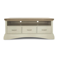 1st Avenue - Sandford Oak TV Stand With Drawers, Off White - Entertainment Centers and Tv Stands