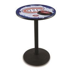 Montreal Canadiens Pub Table 28-inchx36-inch