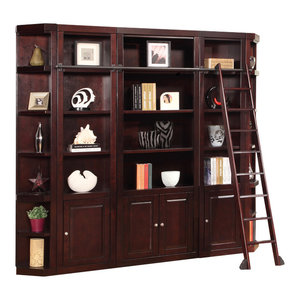 Parker House Boston 5-Piece Library Wall in Merlot, #2