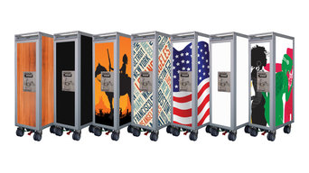 Airline Service Cart