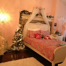 Girly Pink Bedroom Inspired By Gabriella Demartino