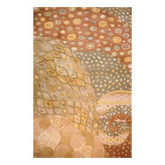 """Momeni New Wave NW-71 Area Rug, Natural, 2'6"""" X 12' Runner"""