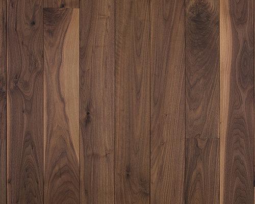 Oiled black walnut wood flooring