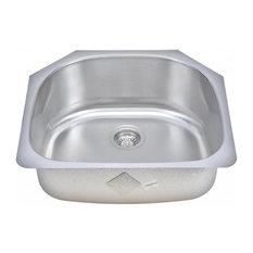 Wells Sinkware D-shaped Bowl Sink