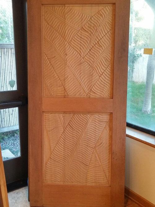 Custom Carved Wood Doors Bamboo Maui - Interior Doors & Custom Carved Wood Doors Bamboo Maui